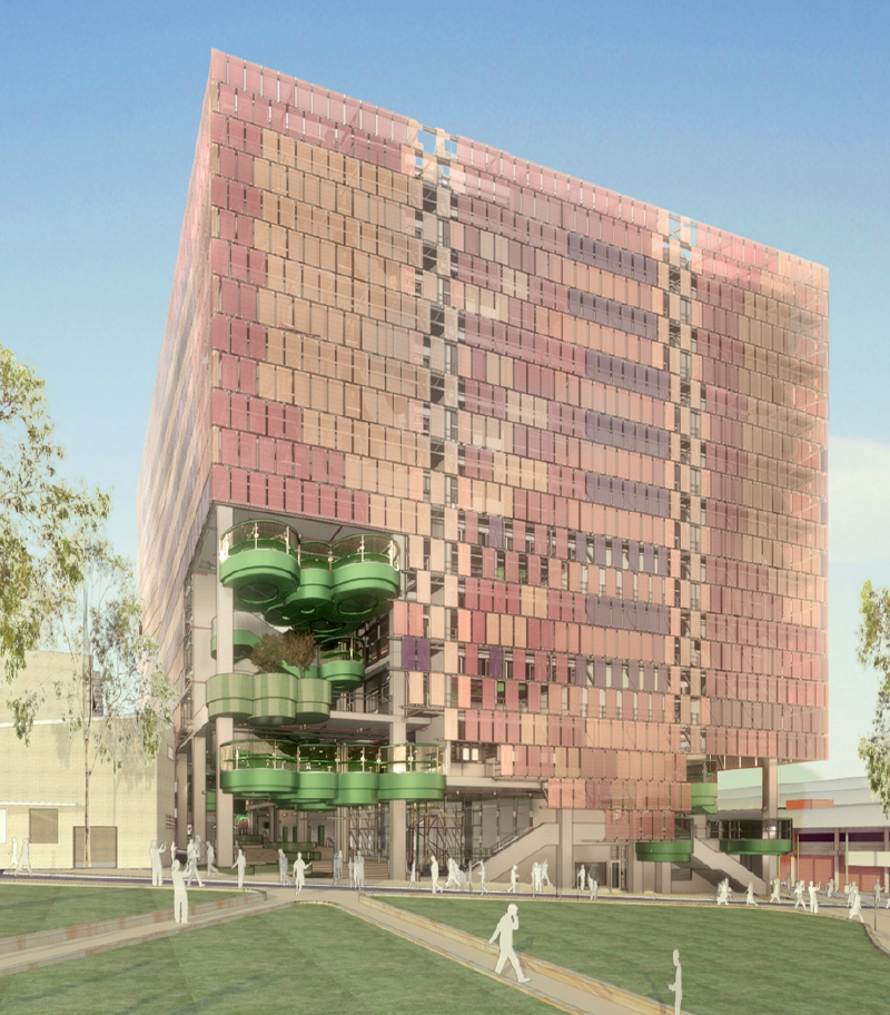 Andrew N. Liveris Building - artist impression